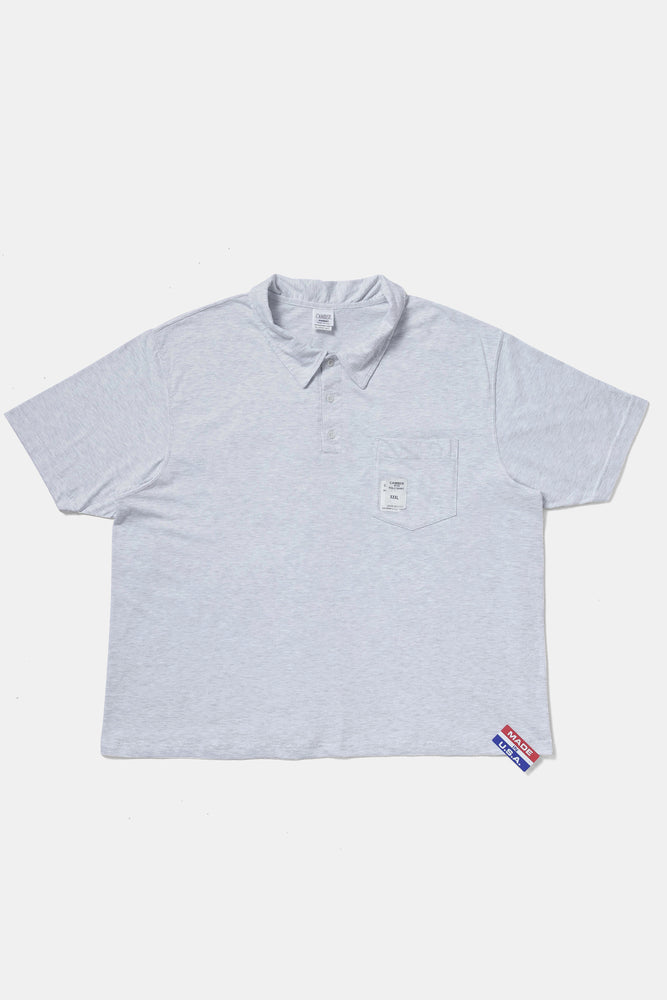 CAMBER 3XL S/S POLO GRAY