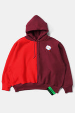CAMBER Bicolor Big Sweat Parka / Burgundy