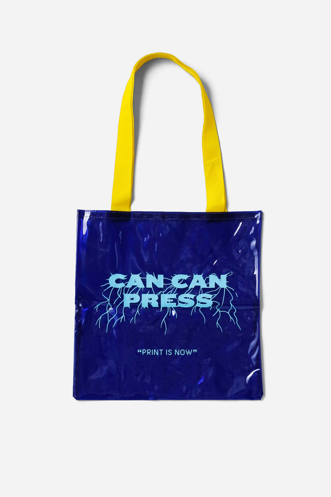 Vinyl Tote Bag / CAN CAN PRESS