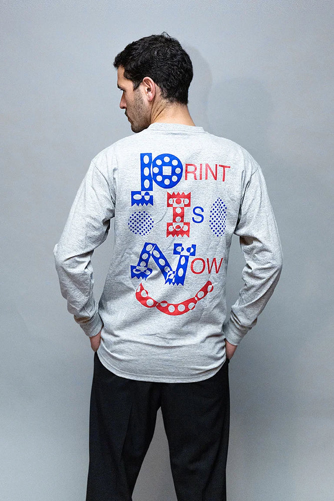 Print Is Now Shirt - I / CAN CAN PRESS
