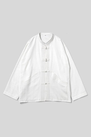 Chengmai Chinese Shirt / White