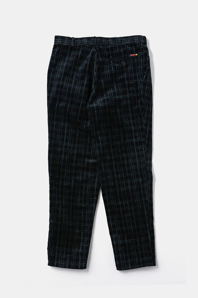 German Corduroy Check Pants