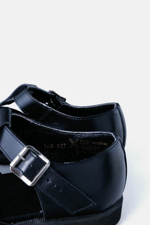Czech Military Leather Sandales / Black