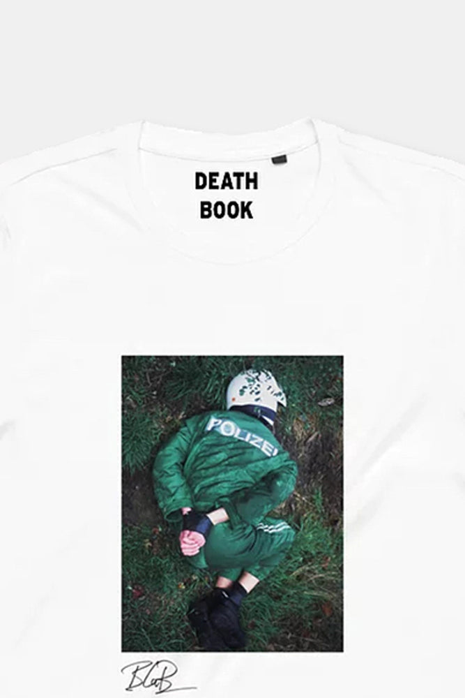 Death Book Tee by Bruce LaBruce
