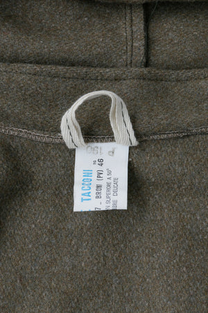 Italian Wool Hooded Coat