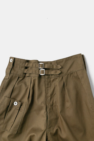 Gurkha Wide Trousers Olive / Made in Pakistan