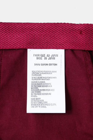 TUKI / Pajamas Pants(0041) Bordeaux