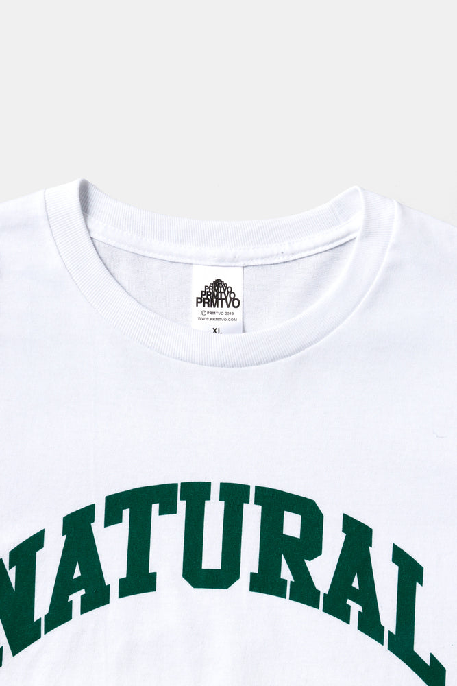 S/S NATURAL HIGH Tee WHT / PRMTVO