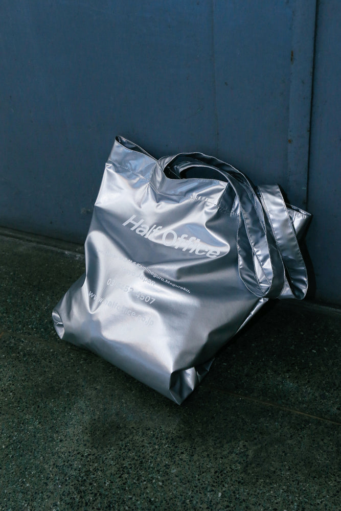 Half Office Original Tote Bag / Silver