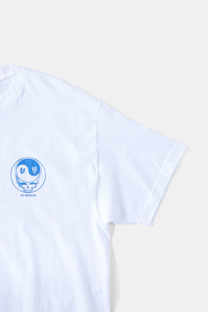 Steal Your Face Skull Tee - BLU / Psyc moratorium