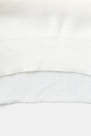 BW White Commando Sweater