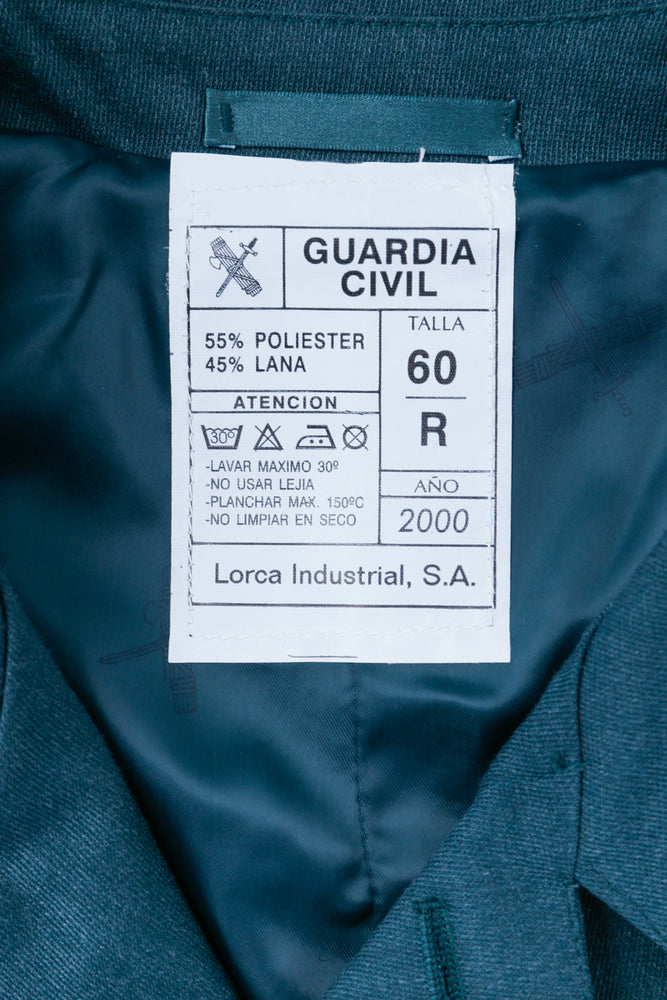 Spanish Civil Guard Wool Coat
