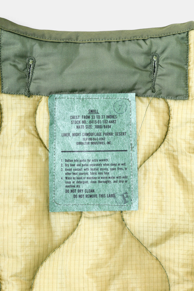 US Military Quilting Liner JKT