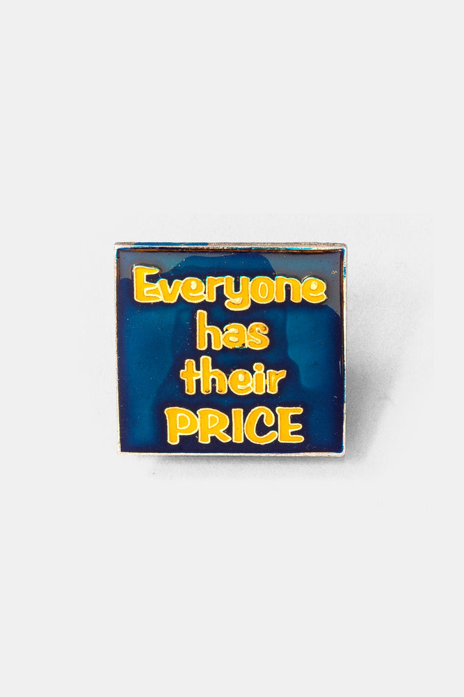 Vtg 70's Bad words Pins / Every one has their PRICE