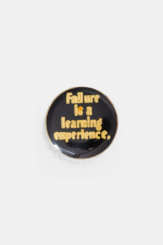 Vtg 70's Bad words Pins / Failuer is a learning experience