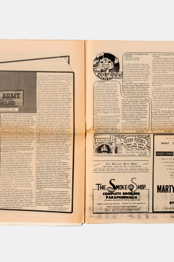 THE FIFTH ESTATE / Underground Newspaper 1973