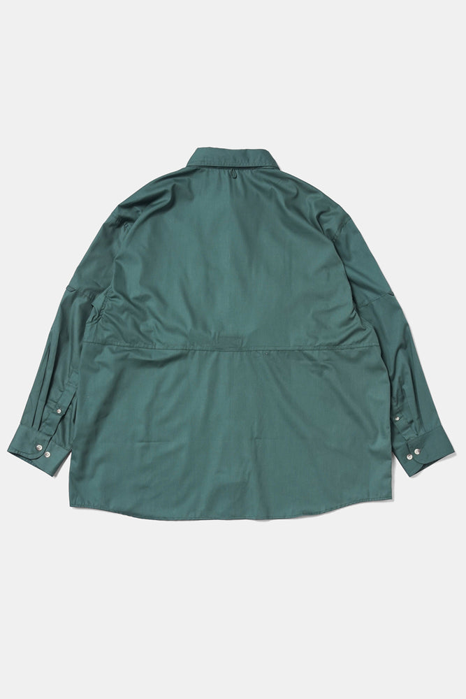 XXL/XXXL Fishing Shirts - Green