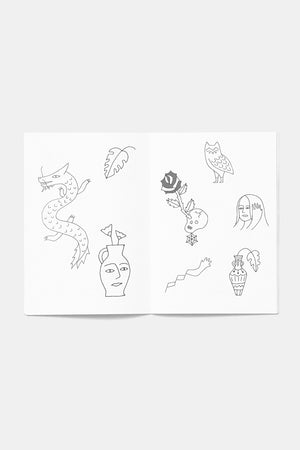 Tattoo Flash Book / Small Spells
