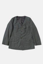 German Military Dress JKT Collarless Custom