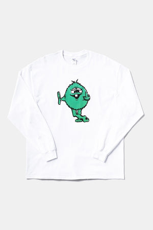 Green Monster Fuck You L/S Tee