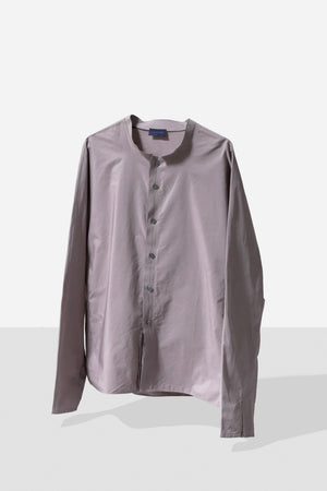 "Half Office /  80's ""LANVIN"" Stand Collar Shirt"