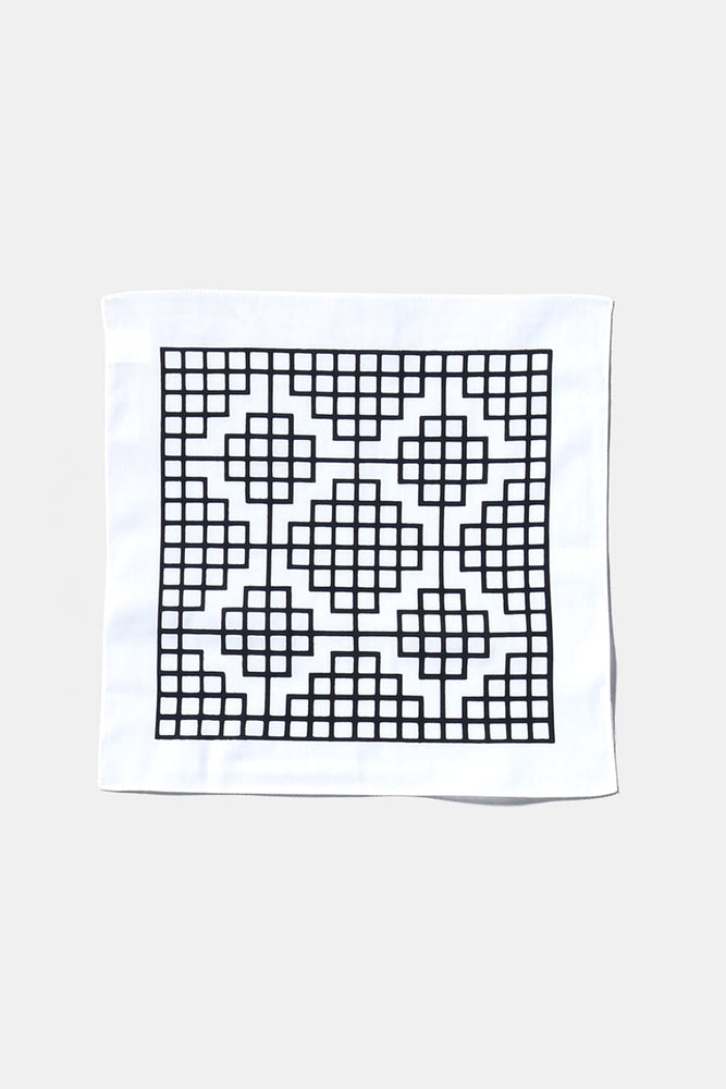 CAROL BOVE COTTON HANDKERCHIEF White