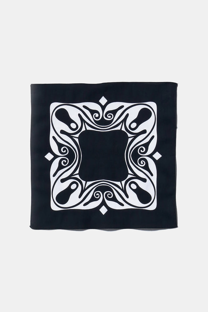 CAROL BOVE COTTON HANDKERCHIEF Black