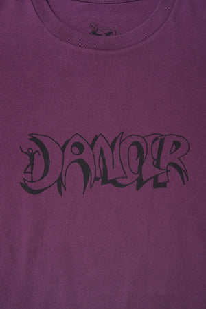 Horror Logo Tee Purple / DANCER