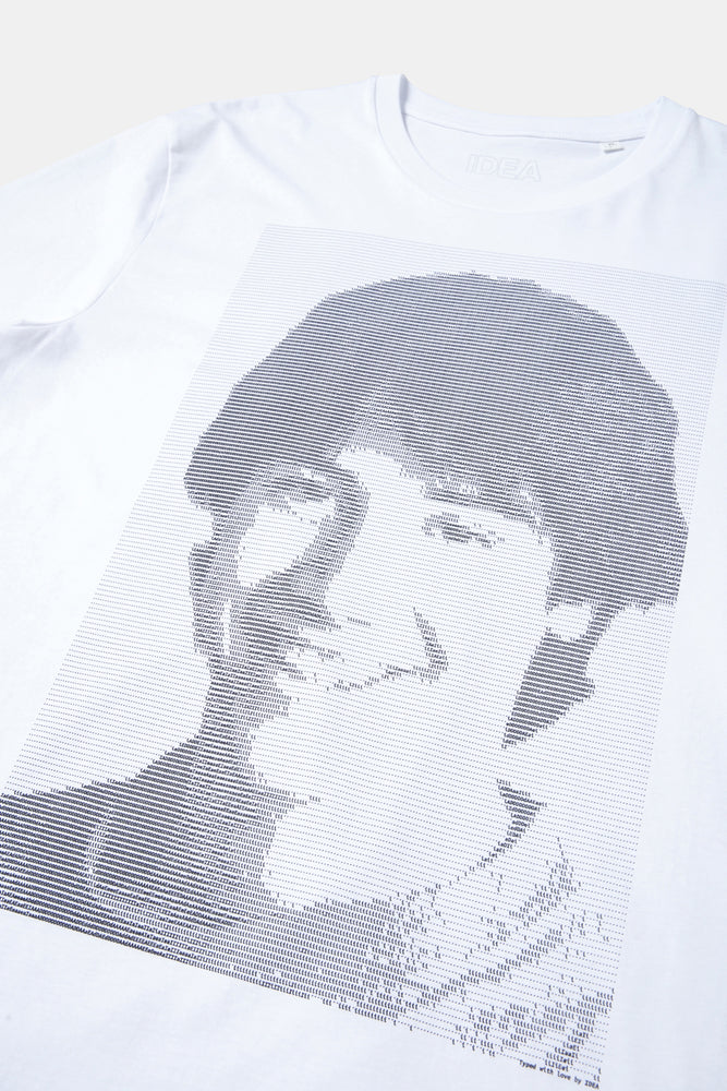 KEANU TYPE ART T-SHIRT / IDEA Books