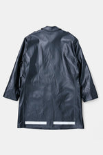 80's Suisse Fireman Fuax Leather Coat
