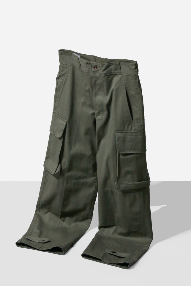 Dead Stock 60's French Military M-47 Cargo Pants Size21