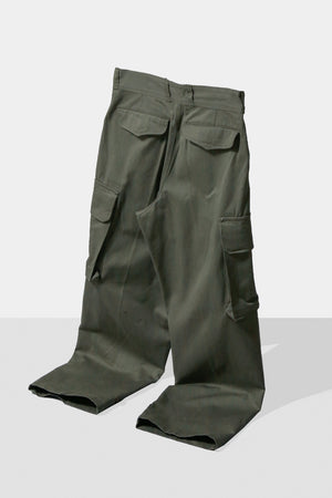 Dead Stock 60's French Military M-47 Cargo Pants Size11