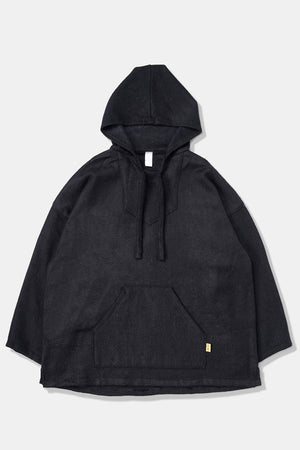 Fifth Modify x Mexican Hooded JKT Black