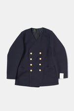 Swedish Military Dress JKT Collarless Custom