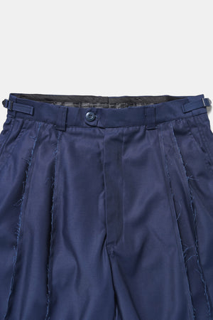 German Frayed Edge Custom Shorts