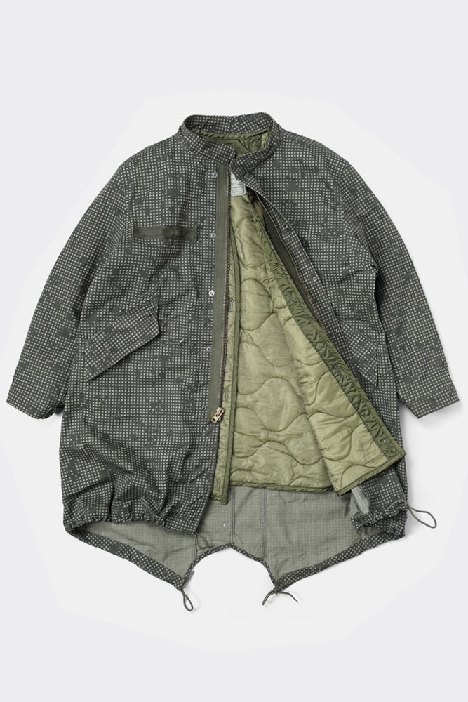 Fifth Modify x US Night Camouflage Fishtail Parka