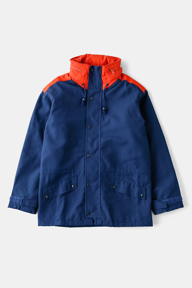 Italian Military Navy x Orange Parka JKT