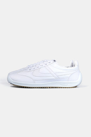 PANAM Lether Jogger Shoes (WHT)