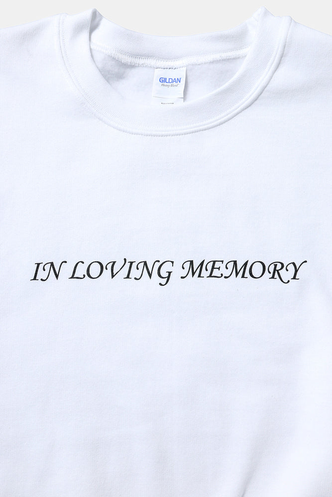 IN LOVING MEMORY Sweat / PAPER & INK COTTON CLUB