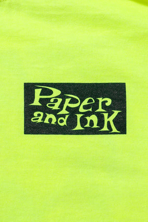 Paper&Ink Dancehall L/S Tee Yellow Design by Taeer Maymon