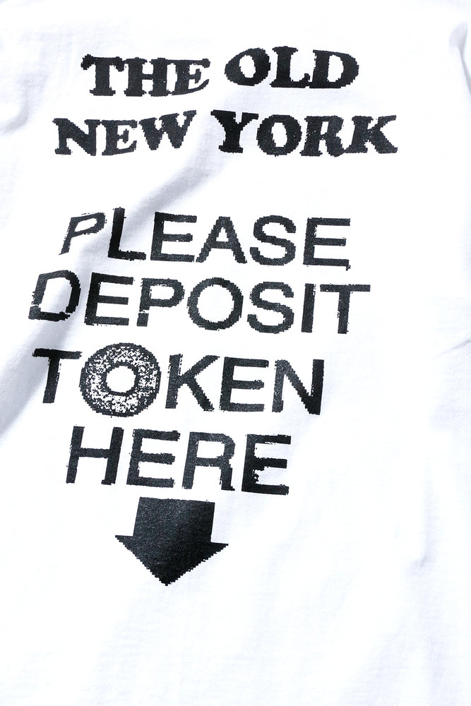 PLEASE DEPOSIT TOKEN HERE L/S TEE / PAPER & INK COTTON CLUB