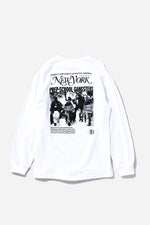 PREP SCHOOL GANGSTERS L/S TEE / PAPER & INK COTTON CLUB