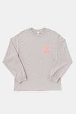 Jordan Nassar x Paper & Ink Cotton Club L/S Tee - BEG