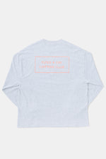 Jordan Nassar x Paper & Ink Cotton Club L/S Tee -GRY