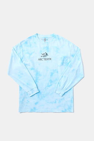 Bootleg Alleyway Dragon L/S TEE (Tiedye/Blue)