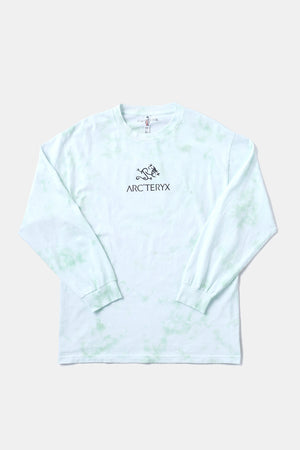 Bootleg Alleyway Dragon L/S TEE (Tiedye/Green)