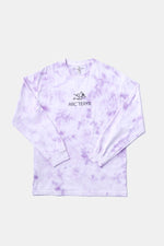 Bootleg Alleyway Dragon L/S TEE (Tiedye/Purple)