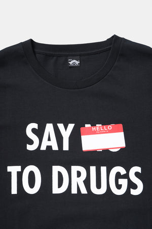 SAY HELLO TO DRUGS S/S Tee / 1800-Paradise