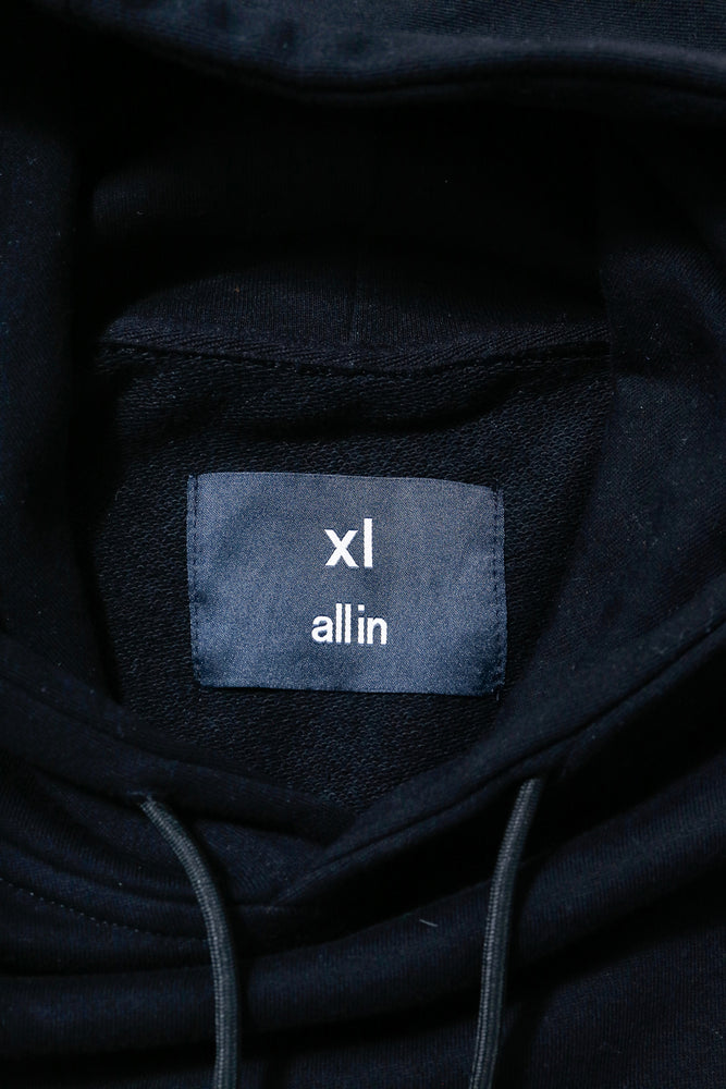 all in Yiddish Hoodie (BLK)