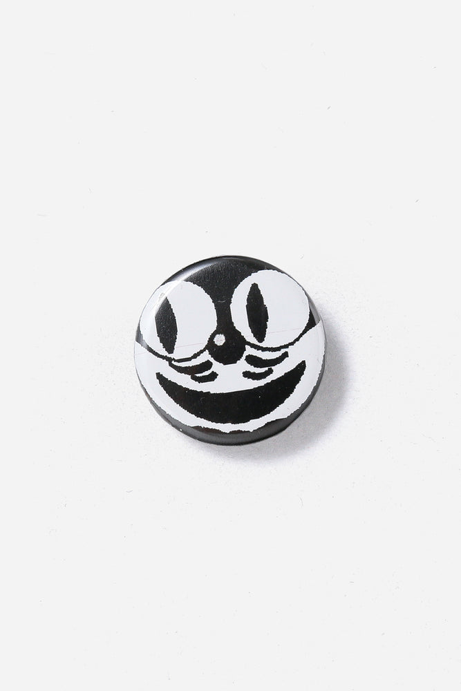 Tony Valentine Smile Cat Can badge